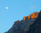 Moon Over Yosemite